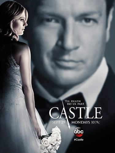 Castle season 7 ABC poster 2014