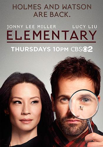 Elementary season 3 CBS poster 2014
