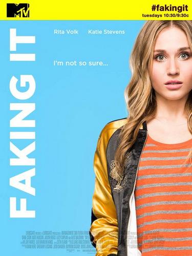 Faking It poster MTV season 2 2014