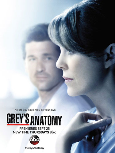 Greys Anatomy poster season 11 ABC 2014