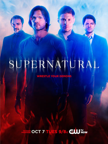 Supernatural poster season 10 The CW 2014