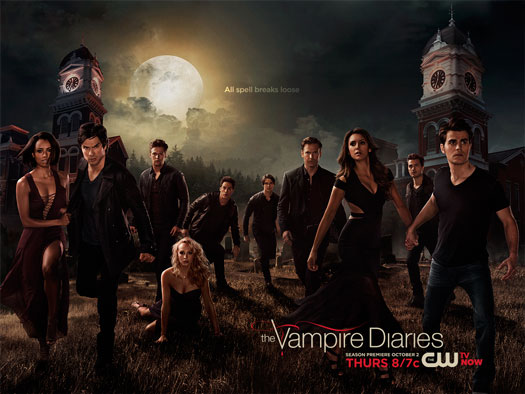 The Vampire Diaries The CW season 6 poster 2014