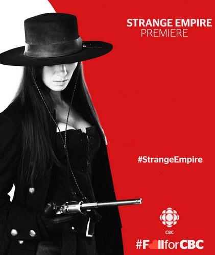 Strange Empire poster CBC season 1 2014