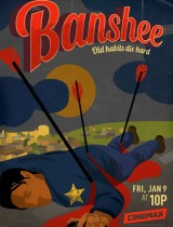 Banshee poster Cinemax season 3 2015