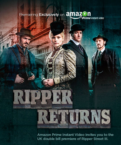 Lucifer Season 4 On Netflix Release Date Episodes Cast: Ripper Street Season 3 2014