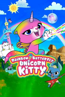 Rainbow Butterfly Unicorn Kitty