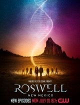 Roswell, New Mexico (season 3) tv show poster