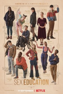 Sex Education (season 3) tv show poster