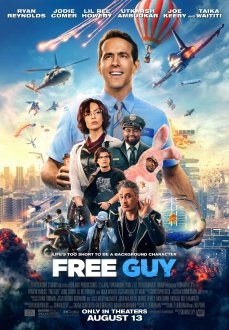 Free Guy (2021) movie poster